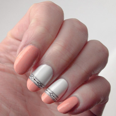 It's (almost) all peachy nail art by What's on my nails today?