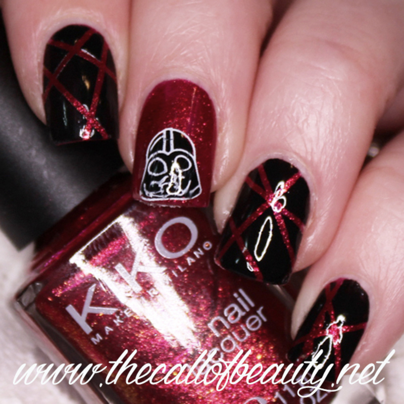 Star Wars - Darth Vader nail art by The Call of Beauty - Nailpolis ...