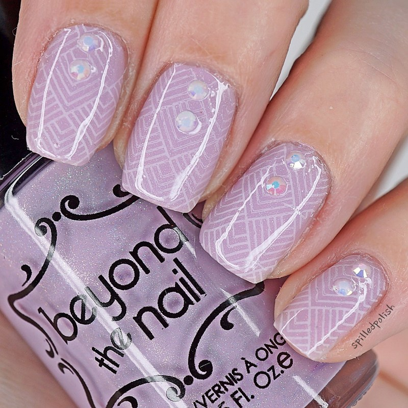 Spring Time Stamping nail art by Maddy S