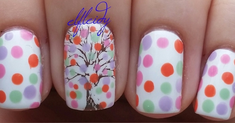 #glamnailschallengeapril 04-12-2017 nail art by Jenette Maitland-Tomblin