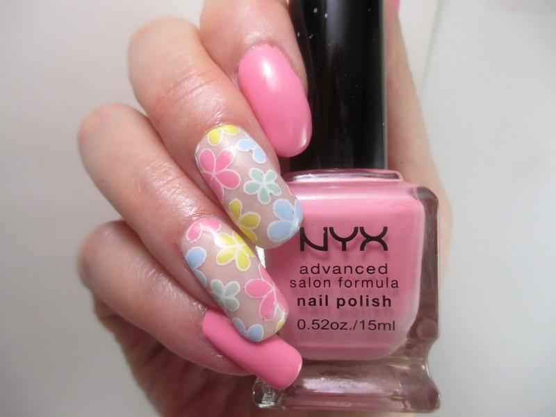 Easter Pastels nail art by NinaB