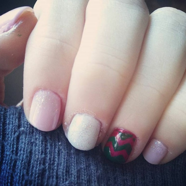 Winter nail art by Desere Olson