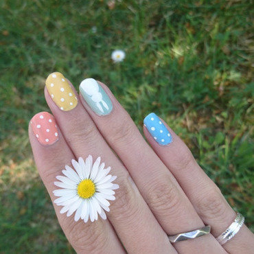 Easter nail art by i-am-nail-art