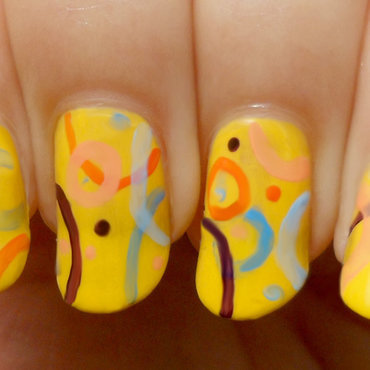 Abstract & Artistic JP MAG Inspired Nail Art ネイルアート nail art by madjennsy Nail Art