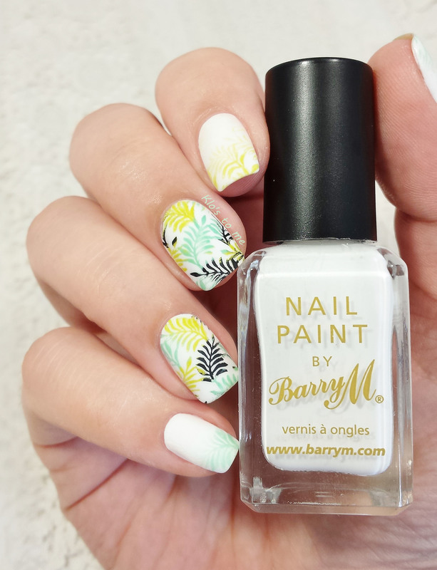 Tropical Jungle nail art by klo-s-to-me