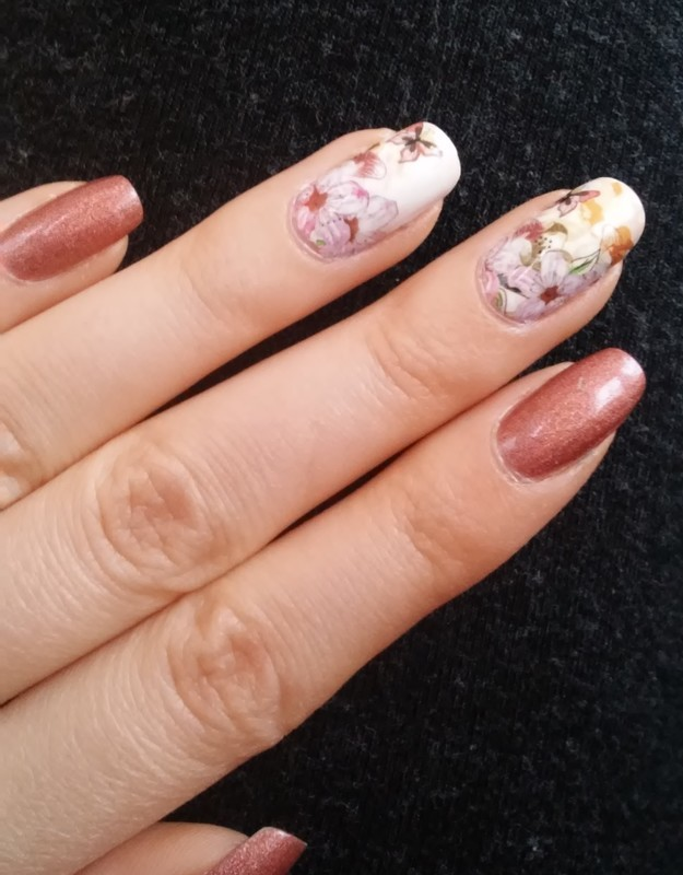 spring nail art by irenek