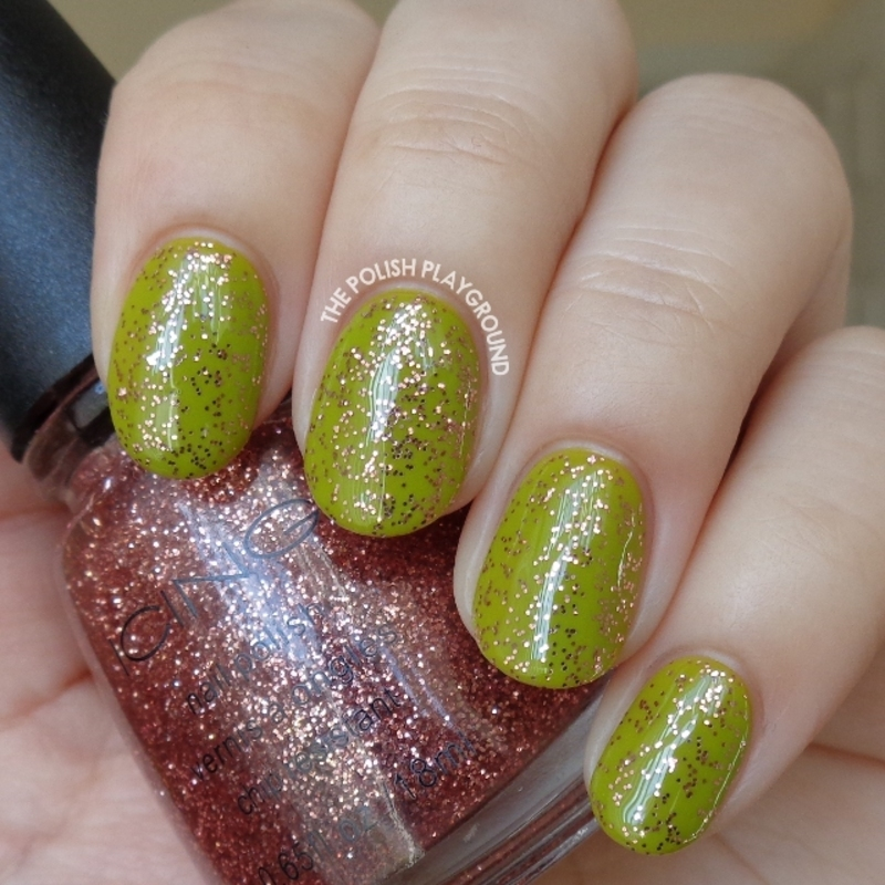 Icing Glitter & Go Swatch by Lisa N