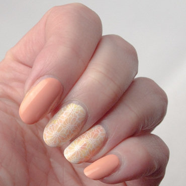 Pastel smoosh manicure nail art by What's on my nails today?