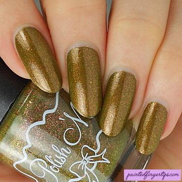 Olive polish swatch thumb370f