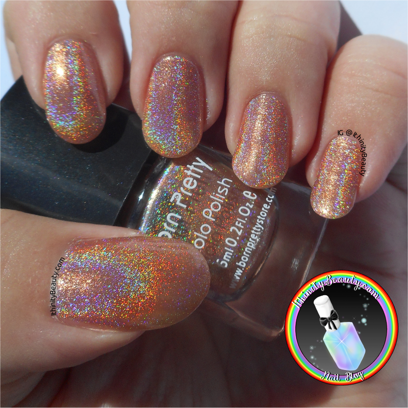 Born Pretty Store Holographic n° 6 Swatch by Ithfifi Williams