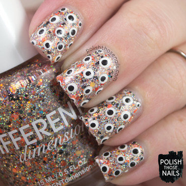 Different dimension dream within a dream glitter holo polka dot nail art 3 thumb370f
