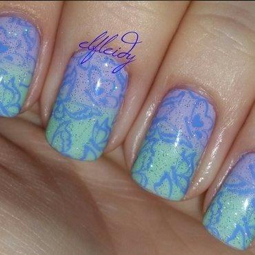 Stamped #PAAManiMonday nail art by Jenette Maitland-Tomblin