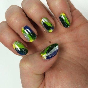 Spring fling nail art by dazyndara