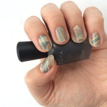 Cape Palliser nail art by dazyndara