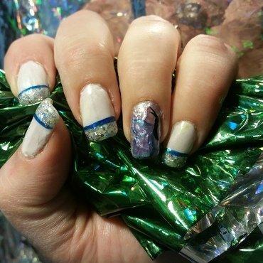 flutterby nail art by Valerie Harper