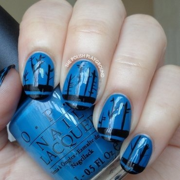 The Road Book Inspired Nail Art nail art by Lisa N
