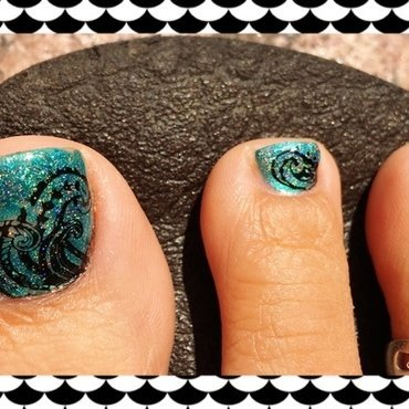 whirlpool nail art by Idreaminpolish