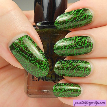 Leaf green stamping thumb370f