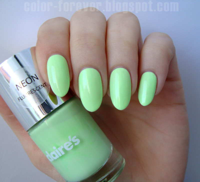 Claire's White Neons Swatch by ania