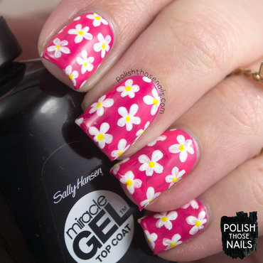 Tipsy Pop Florals nail art by Marisa  Cavanaugh