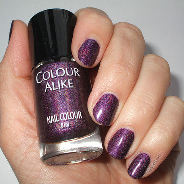 Colour Alike 502 Swatch by only real nails.