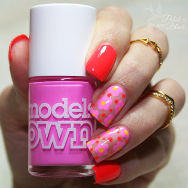 Flower Power! nail art by Polishisthenewblack