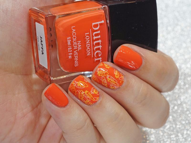 Carrots nail art by Moriesnailart