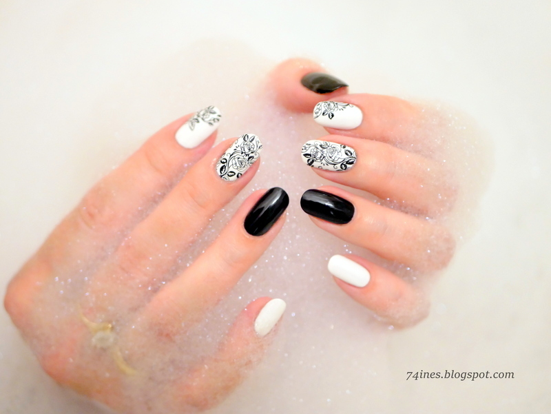 Constantly nail art by 74ines