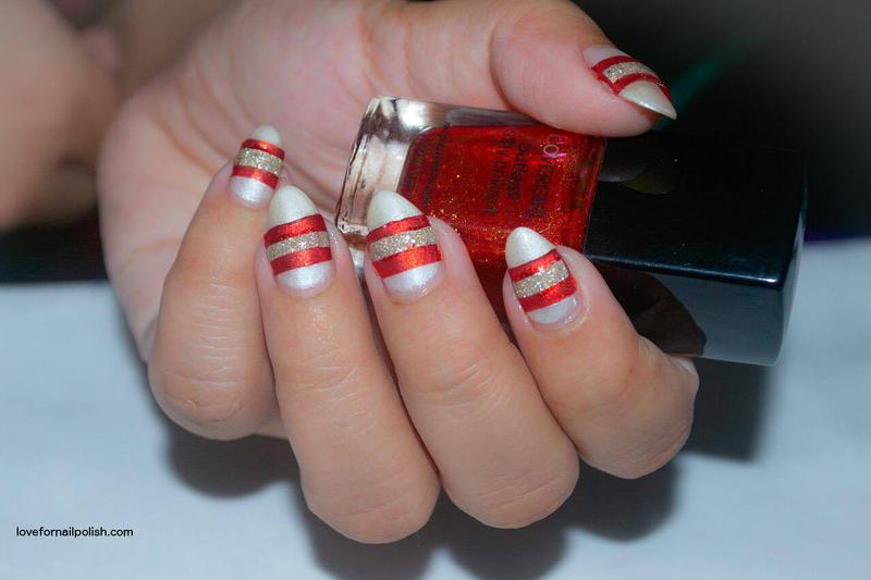 DIY Nail Art Sticker Design nail art by Demi