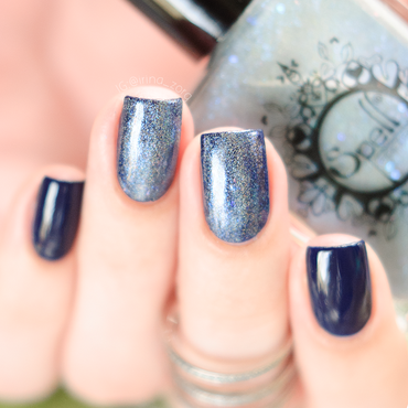 Jerden C02 and spell polish Charlie's Footprints Swatch by Irina Zorg