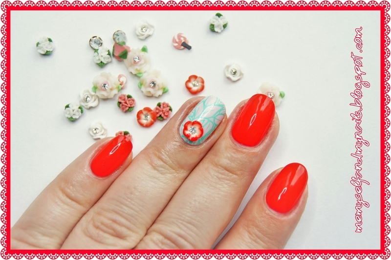Waiting for the spring nail art by ELIZA OK-W