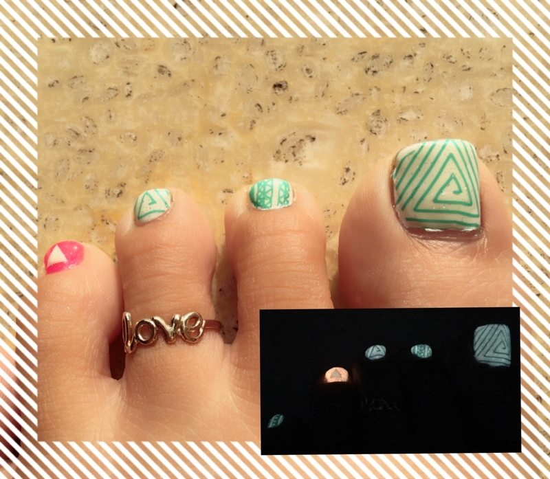 triangulate nail art by Idreaminpolish