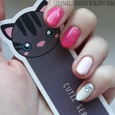 Pink Forever nail art by StyleNailsAndYou