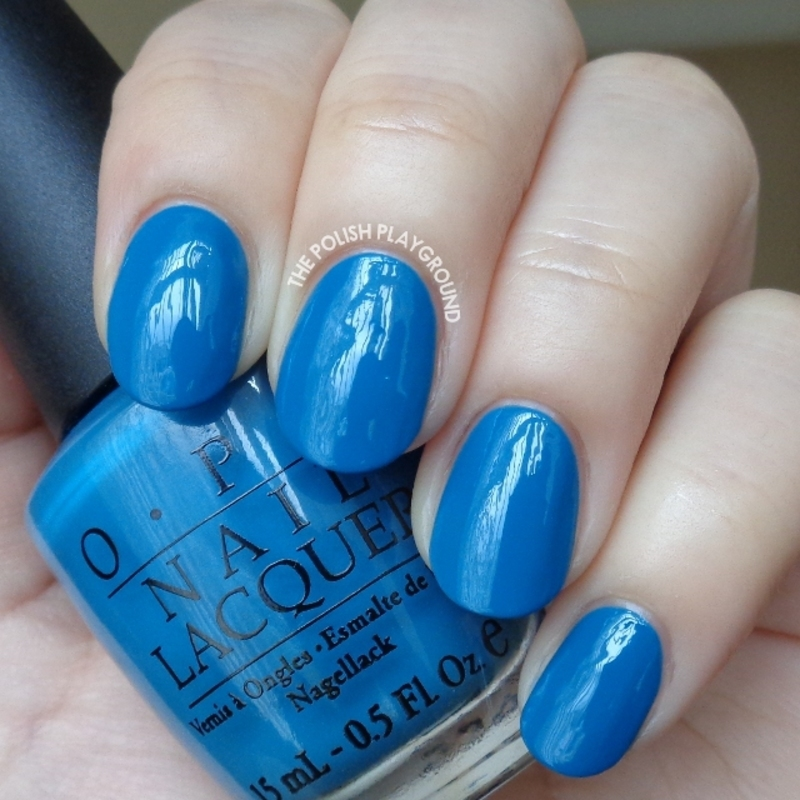 OPI Suzi Says Feng Shui Swatch by Lisa N