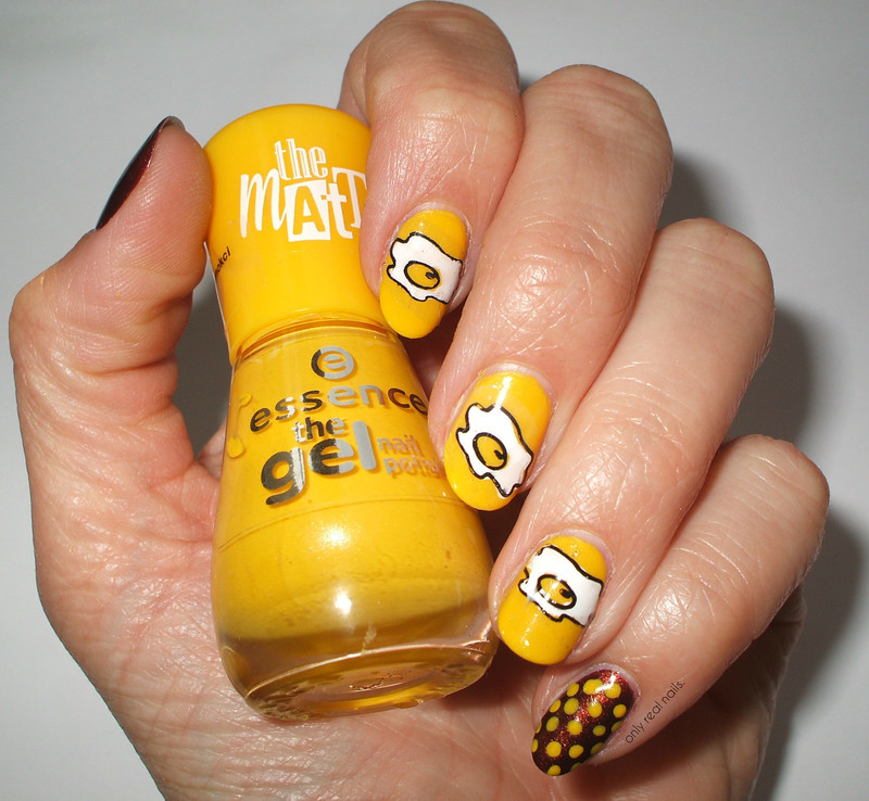 Ale jaja! nail art by only real nails.