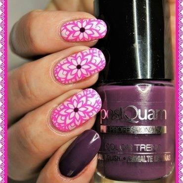 Neons nail art by ELIZA OK-W