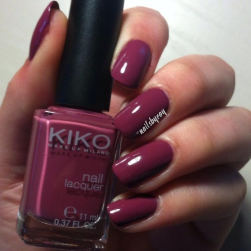 Kiko 317 Swatch by nailsbyroy