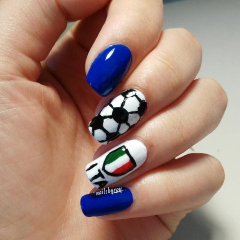 Italian NT nail art nail art by nailsbyroy