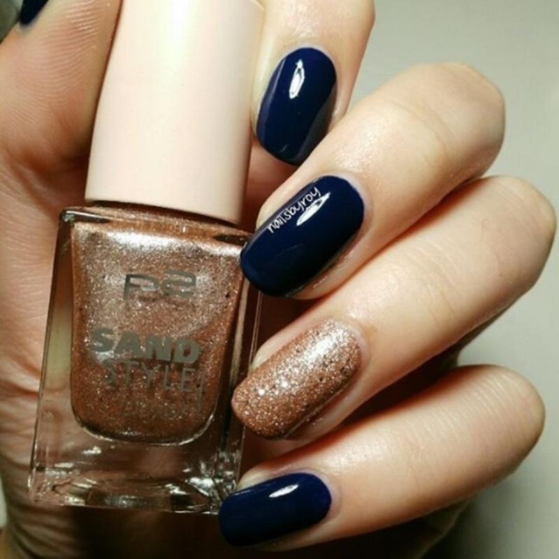 P2 Pretty and Essence I love my blue jeans Swatch by nailsbyroy