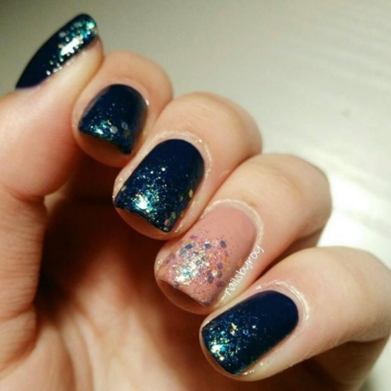 Glitter gradient nail art nail art by nailsbyroy