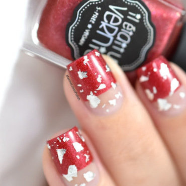 Classy & Bling  nail art by Marine Loves Polish