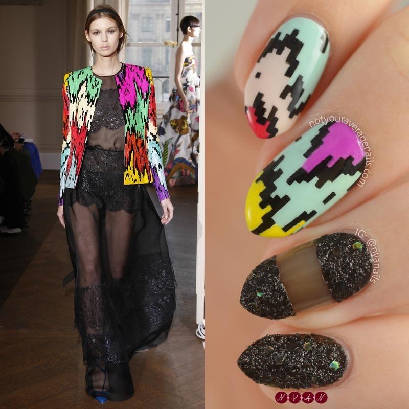 Schiaparelli #15 nail art by Becca (nyanails)