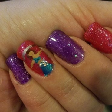 all about me nail art by Valerie Harper