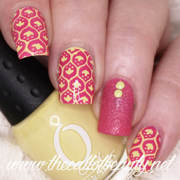 26 20great 20nail 20art 20ideas 20  20yellow 20and 20fuchsia 20manicure 20 20  20wmm thumb370f