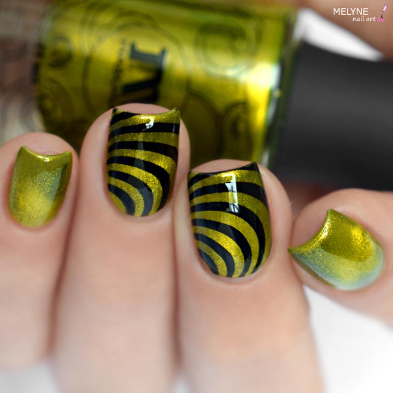 Illusion nail art nail art by melyne nailart