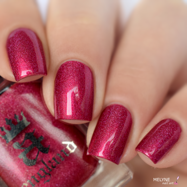 A England Shall Be My Queen Swatch by melyne nailart