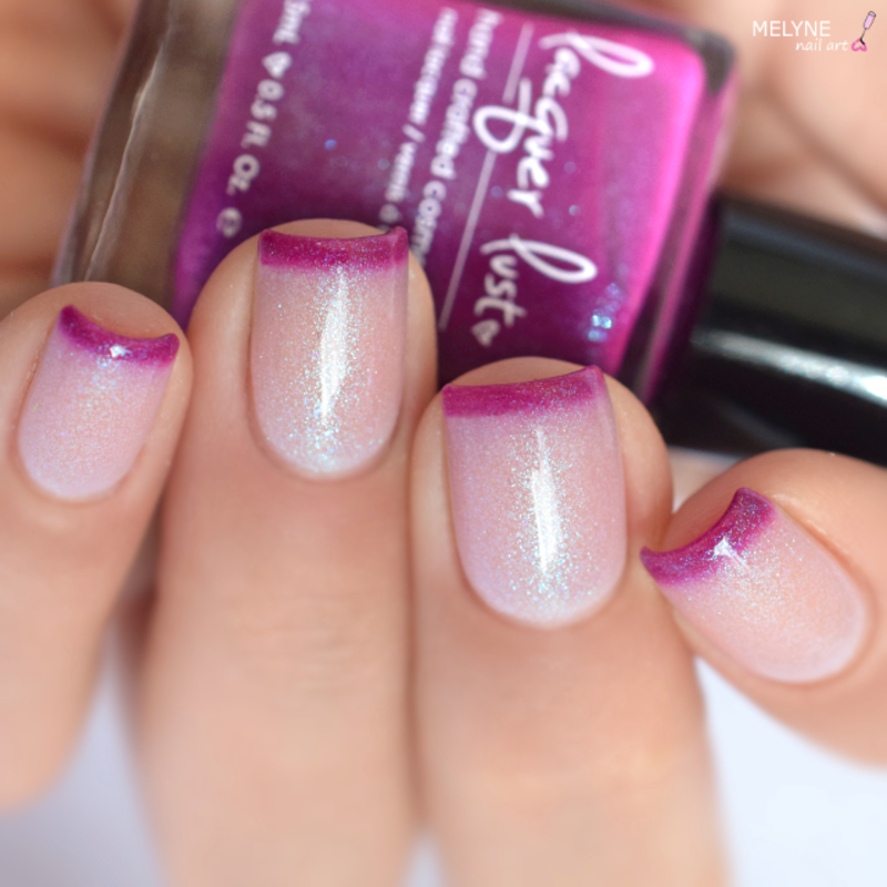 Lacquer Lust Love Potion Swatch by melyne nailart