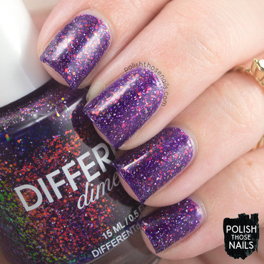 Different dimension butterfly nebula purple iridescent glitter swatch 3 thumb370f