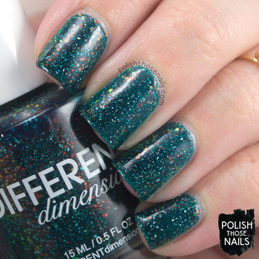 Different dimension helix nebula teal iridescent glitter swatch 3 thumb370f