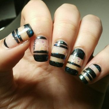 Negative spaces nail art nail art by nailsbyroy